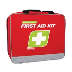 FastAid Easy Refill First Aid Kit - Soft Portable Case