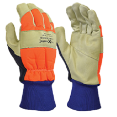 'Forester' HiVis Chainsaw Gloves
