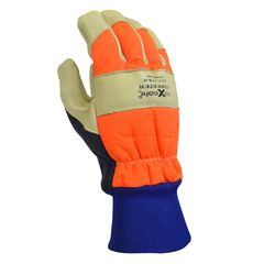 Forester HiVis Chainsaw Gloves