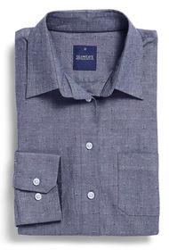 Gloweave Ladies Chambray Dobby Casual Slim Fit Shirt