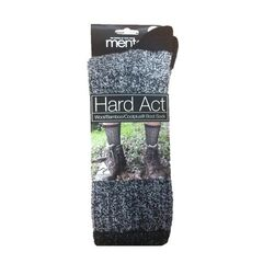 Hard Act Wool/Bamboo/Coolplus® Boot Sock