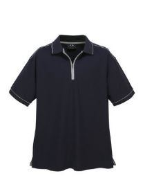 The front of a Heritage Polo Shirt