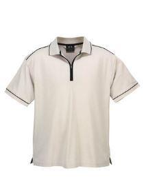 A white Heritage Polo Shirt