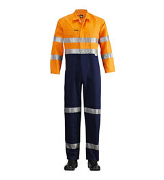 Hi-Vis Two Tone Coveralls with 3M Ref Tape