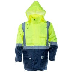 Hi-Vis Waterproof Shell Jacket
