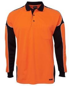 Hi Vis LS Arm Panel Polo