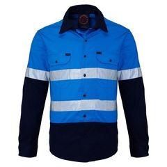 Hi-Vis Open Front LS Ref. Shirt