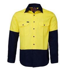 Hi-Vis Open Front LS Shirt