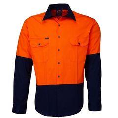 Hi Vis Open Front LS Shirt