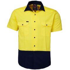 Hi-Vis Open Front SS Shirt