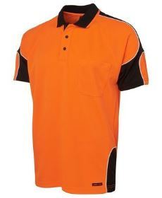 Hi-Vis SS Arm Panel Polo