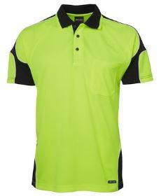 Hi Vis SS Arm Panel Polo