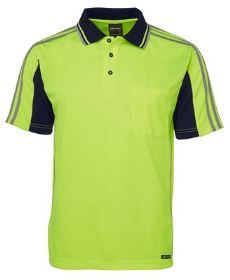 Hi Vis SS Arm Tape Polo