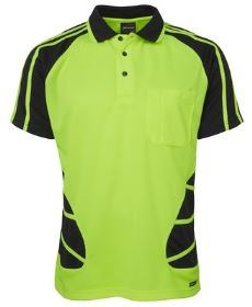 Hi-Vis SS Spider Polo