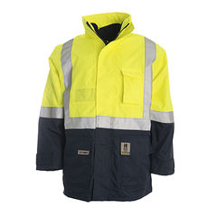 Hi-Vis Waterproof 4 in 1 Jacket