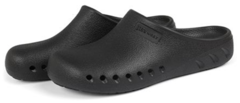 A pair of black JBand39s Clogs