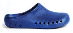 A blue JBand39s Clog