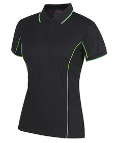 JB's Ladies S/S Piping Polo