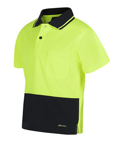 Kids HiVis Traditional Polo