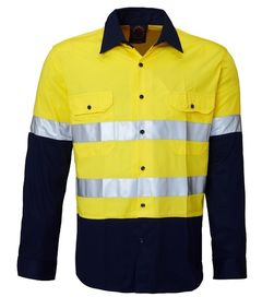 Kids Hi Vis Work Shirt