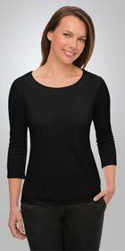 Ladies 34 Sleeve Smart Knit Top