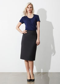 Ladies Classic Below Knee Length Skirt