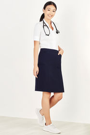 Ladies Comfort Waist Cargo Skirt