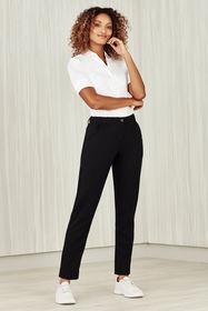 Ladies Comfort Waist Slim Leg Pant