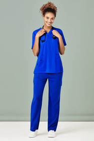Ladies Easy Fit V-Neck Scrub Top