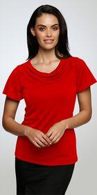 Ladies Eva Knit Short Flutter Sleeve