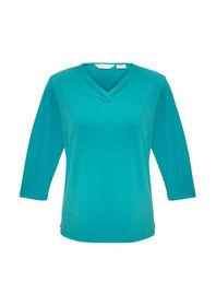 Ladies Lana 34 Sleeve Top