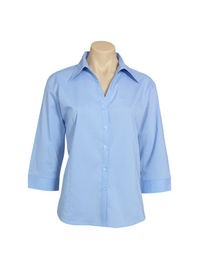 Ladies Metro 34 Sleeve Shirt