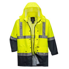 Mackay Anti Static Jacket Yellow/Navy