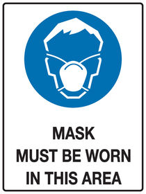 Mask Protection Sign