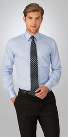 Mens Long Sleeve Capri Check Shirt