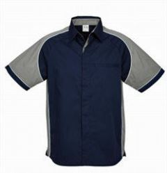 Mens Nitro Shirt SS with grey sleeves