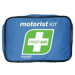 Complete motorist first aid kit