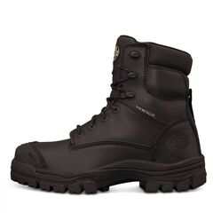 Oliver 150mm Black Zip Sided Safety Boot