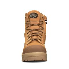 Oliver 150mm Wheat Zip Sided Safety Boots