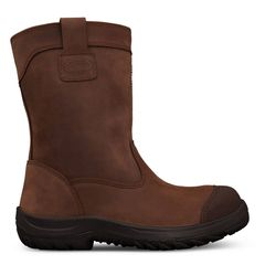 Oliver 34-692 250mm Brown Pull On Riggers Safety Boot
