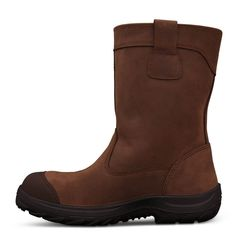 Oliver 34 692 250mm Brown Pull On Riggers Safety Boot