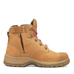 Oliver 49-432Z Women's Wheat Zip Sided Safety Boot