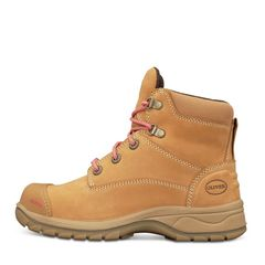 Oliver 49 432Z Women+39s Wheat Zip Sided Safety Boot
