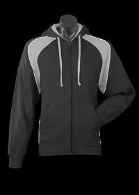 A Panorama Zip Hoodle with grey