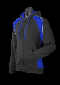 A Panorama Zip Hoodle with blue