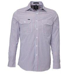 Pilbara Mens Long Sleeve Checked Shirt