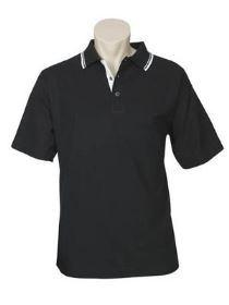 Pique Knit Polo Shirt