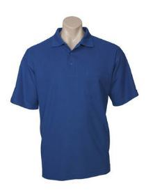 Pique Knit with Pocket Polo Shirt