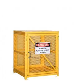 Pratt Forklift Cylinder Storage Cage