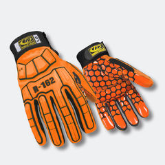 R-162 Superhero Silicone Palm Glove